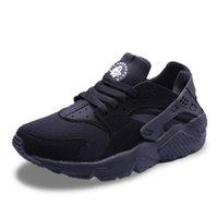 ingrosso zapatillas casual hombre-Scarpe casual da uomo 2017 Scarpe da corsa Air Huaraches For Men Zapatillas Deportivas Scarpe sportive Zapatos Hombre Scarpe da ginnastica Mens Huarache