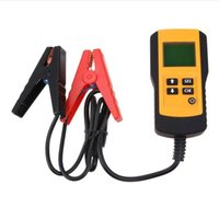 Wholesale digital battery tester auto - 12V Car Battery Tester Vehicle Car LCD Digital Battery Test Analyzer Auto System Analyzer Voltage ohm CCA Test Diagnostic Tool