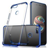 силиконовый блеск оптовых-Для Xiaomi MI A1 5X покрытие мягкие TPU случаи ультра тонкий прозрачный блестящий чехол для xiaomi A1 5X смешанный силиконовый чехол