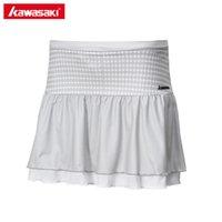 tabellen laufen lassen großhandel-Kawasaki Damen Sport Rock Tischtennis Skorts Polyester Atmungsaktiv Badminton Netball Laufen Shorts Rock Frauen SK-172705