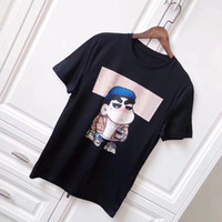 Wholesale cartoon for sale - 18ss Luxury Europe Italy High Quality Tohoshinki Kimjaejoong Vintage Cartoon Crayon Shin chan Fashion Men Women T Shirt Casual Cotton Tee