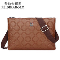 Wholesale high price fashion brands for sale - new hot sale fashion men bags men famous brand design leather messenger bag high quality man brand bag price