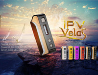 Wholesale Power Led Color - Authentic Pioneer4you IPV Velas 120W TC Box Mod Seven Color LED Strip Powered By YiHi SX410 Chip For 510 Thread Atomizer