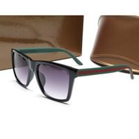 satılık çerçeveli aynalar toptan satış-Sıcak satış Klasik kare çerçeve 3535 marka güneş gözlüğü moda bağbozumu kadın erkek güneş gözlükleri spor sürüş yeni ayna gözlük