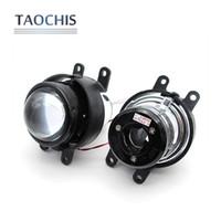 Wholesale xenon projector lens light - TAOCHIS M6 2.5 inch Fog light Projector Lens OEM For Corolla Prado Camry Yaris Levin foglight lamp Hid Bi-xenon H11 kit