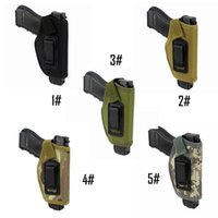 Wholesale holster sales - Concealed Belt Holster IWB Holster for All Hunting Compact Subcompact Pistols Hot Sale