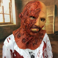 Wholesale devil face for halloween for sale - Group buy Scary Masks Halloween Horror Devil Latex Ghost Corpse Zombie Vampire Haunted House Adult Cosplay Costume Props Secret Chamber Mask ml bb