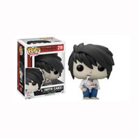 Wholesale vinyl boxes - Funko Pop Death Note Lawliet Vinyl Action Figure With Box #219 Popular Toy Gify Good Quality