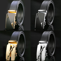 Wholesale wedding jeans - Designer Luxury Belts Men High Quality Male Genuine Leather Strap Waist Brand Wedding Belt Jeans Homme Fashion Waist Strap Belt Box