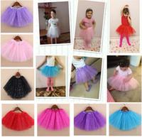 Wholesale Dancing Skirt Hot - Hot Sale New Baby Girls Sparkle Glitter Sequins Stars Dance Ballet Tulle Tutu Skirt Princess Dress Tutu Dress paillette skirts Costumes