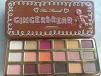 neueste make-up großhandel-Neueste Ankunft auch konfrontiert Make-up-Paletten Sweet Lebkuchen Gewürz Lidschatten-Palette 18 Farben Lidschatten-Palette Shimmer Lidschatten