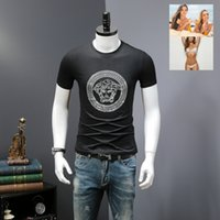 Wholesale Flash For Beads - Tshirts for Male Gentlemen BILLIONAIRE BOYS CLUB T shirts Men Hip Hop Clothing Summer Short Sleeved Tees Tops