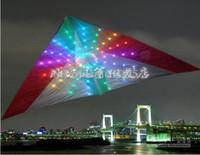 drachen lichter großhandel-3 qm LED-Kite mit 192 LED-Kite-Leuchten, attraktiv in der Nacht
