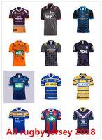 Wholesale blue rhino - 2018 nrl jerseys rugby league NEWCASTLE FALCONS leeds rhinos Brisbane Broncos home away rugby jerseys football jerseys size S-3XL