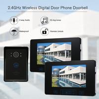 ingrosso sistema di telecamera porta wireless-2.4GHz Wireless Digital Door Phone Citofono Citofono 7