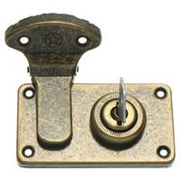 Wholesale 2pcs Iron Guitar Instrument Case Latches Box Buckles With Screws Keys G MUSIC