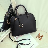 Wholesale Blue Contracts - Shell Bag Contracted Female Fashion Totes Female Bag Contracted Big Bag Female Party Package