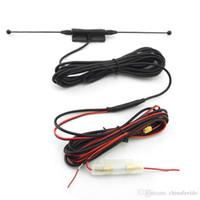 aktives antennenauto großhandel-LEEWA Car SMA Connector Aktive Antenne mit eingebautem Verstärker für digitales Fernsehen # 4151