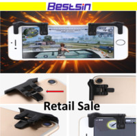 Wholesale Mini Joystick Game Controller - Retail Sale Bestsin MST-G2 2ndGeneration Mini Mobile Game Joystick Shooting Game Physical Touch Controller Raise Shooting Rate Fire Survival
