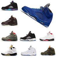 Wholesale cheap products - cheap Basketball Shoes s Blue Suede Red Suede Mens shoe Hot products s sport Sneaker Size US