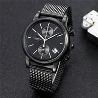 reloj gris resistente al agua al por mayor-2019 New Style boss Free Do impermeable Reloj Automático Hombres Oyster Gray Dial Inoxidable Banda Reloj de Moda proveedor Envío Gratis