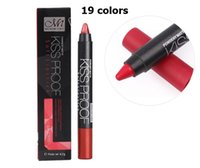 Wholesale menow lip online - Menow Color Lipstick Pen KISS PROOF Sexy Beauty Matte Lipsticks Waterproof Long Lasting Lipstick Gift lip makeup