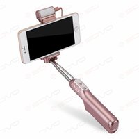 Wholesale SOVO Ulanzi Protable Cell Phones in Bluetooth Wired Selfie Stick with Degree Real Mirror Led Fill Light MM For Selfie