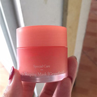 Wholesale mask lips - Laneige Special Care Lip Sleeping Mask Lip Balm Lipstick Moisturizing LZ Brand Lip Care Cosmetic