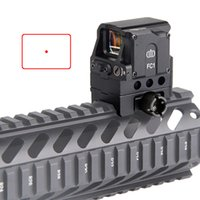 Wholesale Red Dot Scope Airsoft - FC1 2MOA Red Dot Sight Collimated Prismatic Reflex Scope Sight fit for 20mm Rail Hunting Airsoft RL5-0041