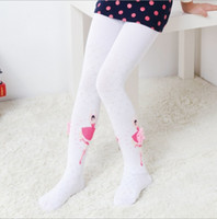 f33ef1da4 Baby girls Pantyhose Tights 2018 Autumn Winter Fashion children Bows  applique princess leggings kids lace cotton bottoms EE-1477