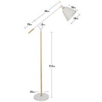 современные торшеры для спальни оптовых-Floor lamp Nordic living room bedroom  table lamps warm study creative personality simple modern vertical lamp floor