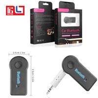 ingrosso adattatore per cuffie mobili-Ricevitore Bluetooth wireless da 3,5 mm per audio cellulare Adattatore di chiamata musicale Kit streaming A2DP per cuffie altoparlante