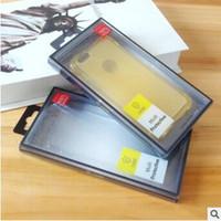 ingrosso pacchetto imballaggio al dettaglio vuoto-Scatole di imballaggio della scatola del telefono cellulare della scatola di vendita al dettaglio di plastica vuota del PVC universale per il iphone XS MAX XR X 8 7 6 più Samung