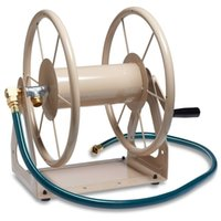 Wholesale Pipe Wall Mount - Steel Wall and Floor Mount Garden Hose Reel Water Pipe Storage Holder Holds 200-Feet of 5 8-Inch Hose