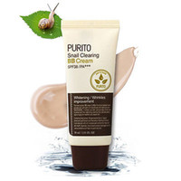 en iyi kozmetik kremler toptan satış-En iyi Kore Kozmetik PURITO Salyangoz Takas BB Krem # 21 # 23 # 27 Yüz Makyaj BB Krem Kapatıcı Fondöten Nemlendirir 30 ml