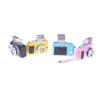 Wholesale pc camera toy for sale - 1 LED Flashing Mini Camera For BJD Doll DIY Dod As Dz Sd Cameras toy Key Chains Toys Sound Gift