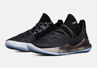 Wholesale top driving shoes men - 2018 Top Quality Stephen Curry 5 Pi Day Fired Up Championship Drive Welcome Home Gold Pack Mens Basketball Shoes Sports Sneakers US7-12
