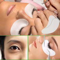 verdünnende wimpern großhandel-6000 stücke Dünne Hydrogel Augenklappe für Wimpernverlängerung Unter Augenklappen Fusselfreie Gel Pads Feuchtigkeit Augenmaske Großhandel