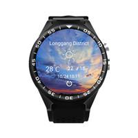 ingrosso orologio intelligente quad core-Orologio smart originale ZGPAX S99C 3G Orologio MTK6580 Quad Core 1G 16GB Android Monitoraggio della frequenza cardiaca Android 5.1 WCDMA GPS WIFI Bluetooth 4.0 Smartwatch