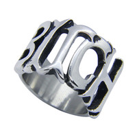 Wholesale Bitch Gifts - 1pc Size 5-10 Newest BITCH Ring 316L Stainless Steel Popular Fashion Jewelry Biker Hiphop Style Cool Ring