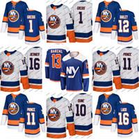 Wholesale bernier jersey for sale - Group buy New York Islanders Jersey Mathew Barzal Alan Quine Shane Prince Josh Bailey Steve Bernier Stephen Gionta Hockey Jerseys