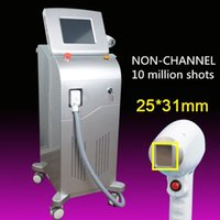 Wholesale handles for laser for sale - Group buy Permanent Hair Removal diode Laser Hair Removal system with NON CHANNEL handle big spot size for fast hair removal