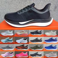 zoom pegasus venda por atacado-Nike Air Zoom Mariah Flyknit Racer Zoom Pegasus Turbo Tênis Para Mulheres Dos Homens, de Alta Qualidade Respirável moda Esporte sapatos Balck AiRs Tênis Esportivos Leve