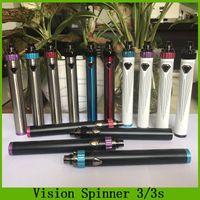 variável giratória venda por atacado-Visão Spinner III IIIS Bateria 1600mAh Spinner 3 3S Bateria de Tensão Variável Top Twist vs ESMA-T Bateria Ola X VV