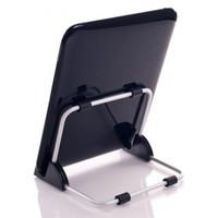 tablet de suporte ajustável venda por atacado-Super Leve Suporte Universal para Tablet PC Dobrável Ajustável Suporte De Alumínio Suporte para ipad Suporte Tablet QJY99
