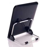 Wholesale ipad air2 tablet pc stands resale online - Super Light Universal Stand for Tablet PC Foldable Adjustable Aluminum Holder Stand for ipad Support Tablet QJY99