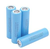 hacer batería recargable al por mayor-100% original 3.7v Chem MH1 3200mah 18650 batería recargable 10A hecha en China FEDEX UPS rápido