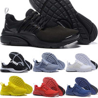 Wholesale womens designer snow boots - New Designer Presto BR QS Mens Womens Running Shoes Triple s White Black Oreo Red Yellow Blue Grey Men Sports Sneakers 36-45