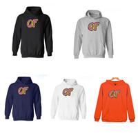 suéter futuro impar venda por atacado-Atacado-5 cores New Fashion Men Odd Futuro Hoodies Skate Men Sweatshirt odd-futuro Shits Golf Wang Casual Casaco Pullover tamanho XXS-4XL