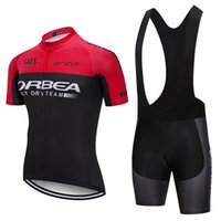 Wholesale orbea cycling jersey red for sale - Group buy 2018 Cycling Clothing ORBEA Breathable Racing Bicycle Wear Short Sleeves Men Cycling Jersey bib shorts Suit Summer road Bike Clothing Y